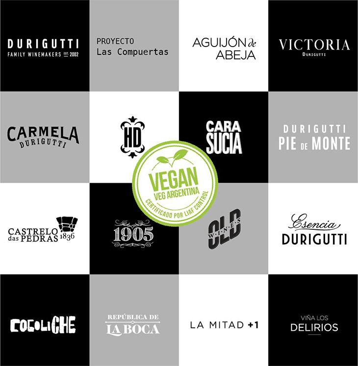 Durigutti vinos veganos