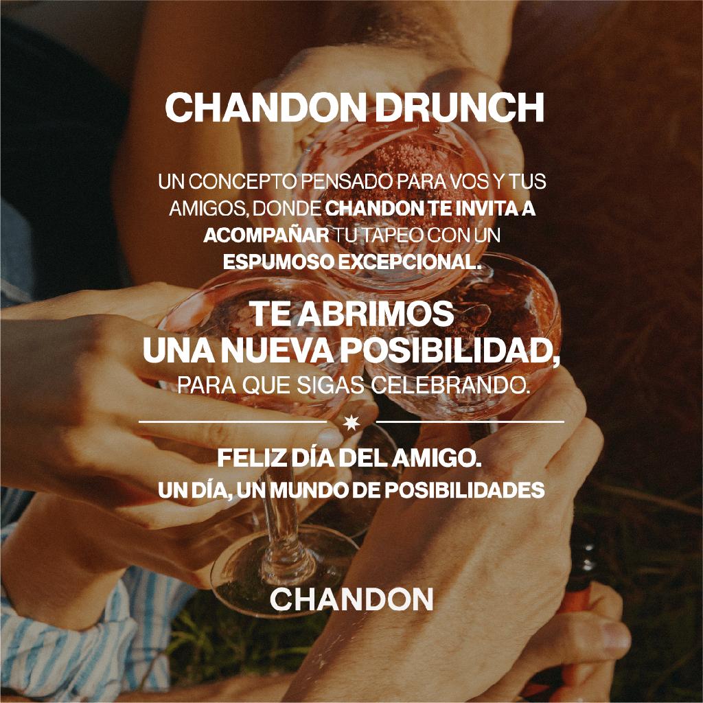 Chandon Drunch, la celebración perfecta para la semana del Día del Amigo 1