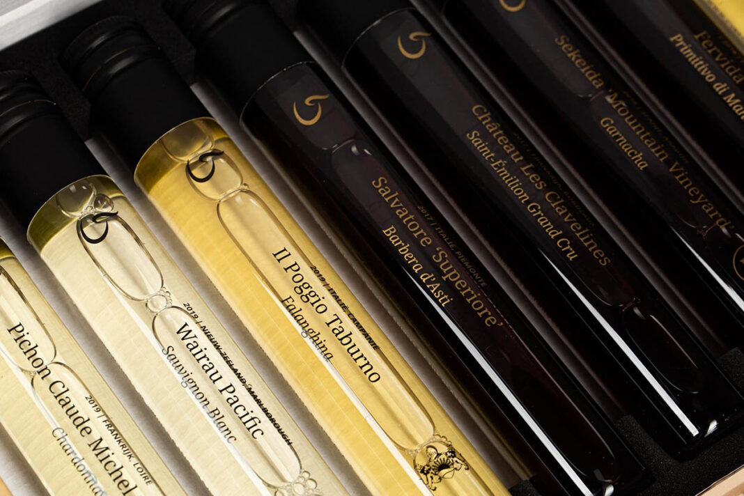 wines in tubes