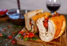 choripán sándwich