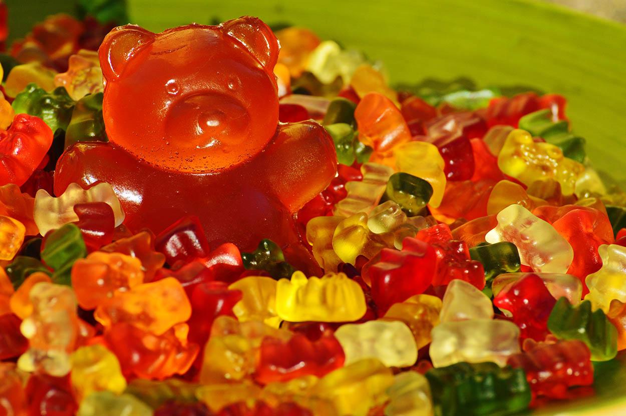 gomitas dulces